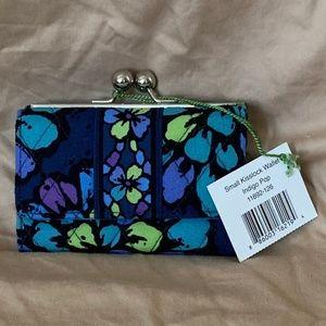 Vera Bradley Small Kisslock Wallet